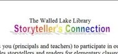 Walled Lake Library: Storyteller's Connection