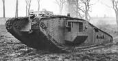 British  Mark 4. Tank