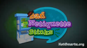NetSmartzKids Bad Netiquette Stinks!