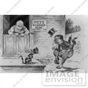 This is his political cartoon