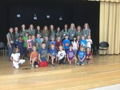 Gators of the Week:  Volleyball Teams Inspires MGES!