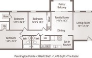 HUGE 3 bedrooms