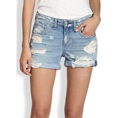 cortos pantalones