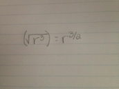Radical Form To Rational Exponents