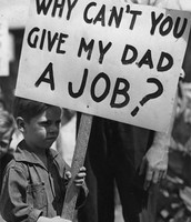 A mans son needing his farther to get his job