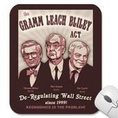 The 1999 Gramm-Leach-Bliley Act.