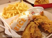 Chicken from Jollibee