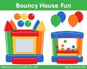 Fall Carnival Bounce House Bracelet - $20