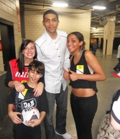 Fam Fit Fun Fans with Nicholas Batum, Portland Trail Blazers!