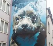 'Onderwater hond' van Bart smets