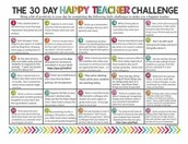 Tuesday - Happy Teacher Challenge