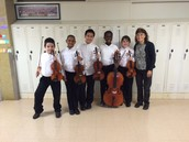Six students attend All-City Junior Orchestra