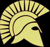 A Graphic Of A Spartan Soldiers Helmet