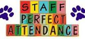 Staff Perfect Attendance