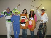 4th Grade Group, Toy Story