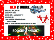 Red and White Boogie Night!
