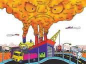 main cause of air pollution