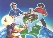 Cartoon of NAFTA