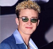"""Frosted tips"" hairstyle"