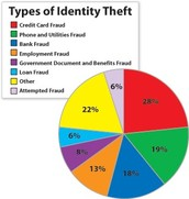 There are multiple different types of identity theft