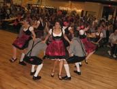 Wurstfest dancers