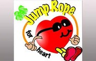 a heart jump roping