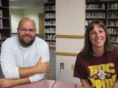 Ty Sturtz, HS Special ED, with Mentor Laura Becker.