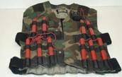 Second model of explosive vest