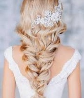 This is a bridal hairstyle
