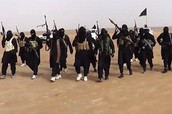 The terrorist group Isis