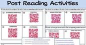 QR Code Post Reading Activities