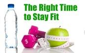 l'exercice devrait être une partie régulière de votre journée !