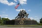 El Monumento De Iwo Jima