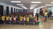 Camp Invention during lunch time