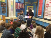 Thank you, Mrs. Choi, for being a Mystery Reader!