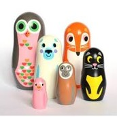 Animal matryoshka