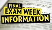 Final Exams May 7 @ 12AM to May 8 @ 11:59 PM