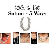 Sutton Necklace-Mixed Metals-SOLD!