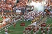 The UT Austin Football team