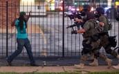 Ferguson people violate human rights