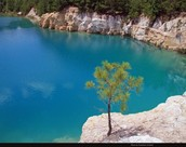 Blue Hole Jasper country