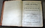 Isaac Newton's Book the Principia