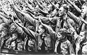 similar hand gestures when hitler was there