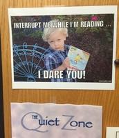 The Quiet Zone - Teachers