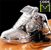 the silver Dada Shoes