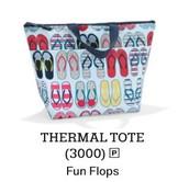 Thermal Tote in Fun Flops