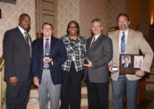 Donation of Time Award: Jones Lang LaSalle with Boyd Anderson High School