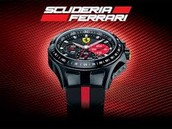 The awesome and the fancy ferrari watch.