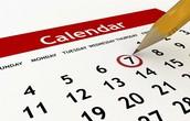 Update December ARMS Calendar