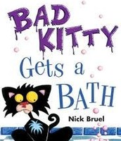 Bad Kittle Gets a Bath